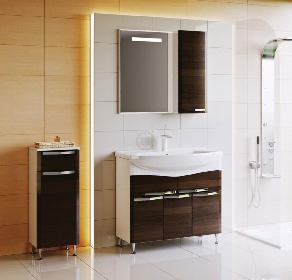 шкаф пенал с бельевой корзиной для ванной идеи интерьер