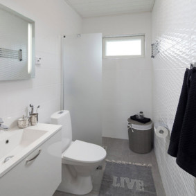 шторка для ванной комнаты из стекла декор идеи