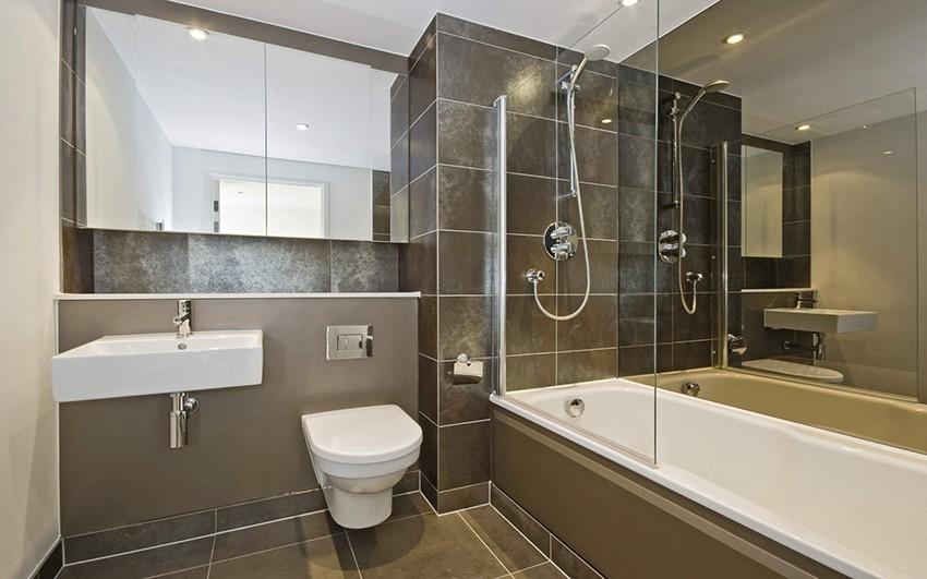 шторка для ванной комнаты из стекла фото дизайн