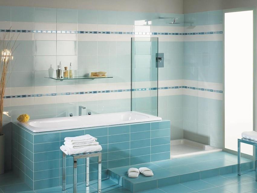 шторка для ванной комнаты из стекла фото дизайна