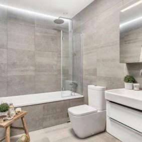 шторка для ванной комнаты из стекла фото обзоры