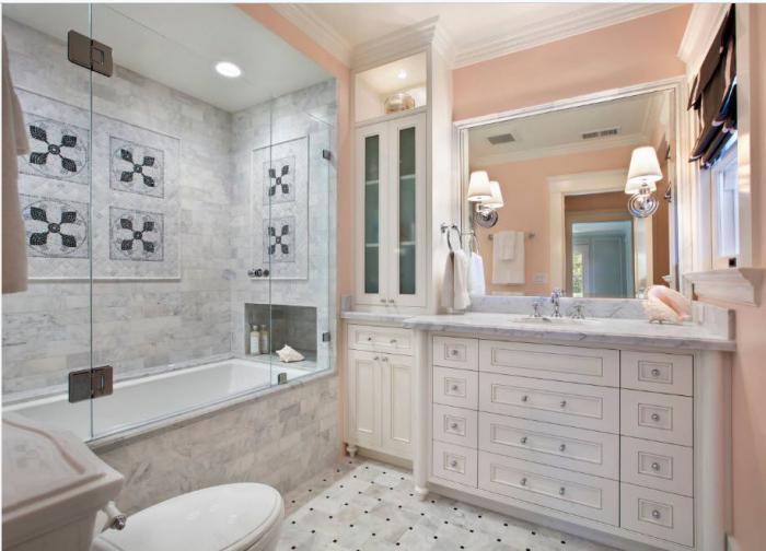 шторка для ванной комнаты из стекла обзор