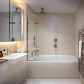 шторка для ванной комнаты из стекла варианты дизайна