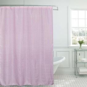 как выбрать шторы для ванной комнаты