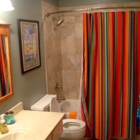 как выбрать шторы для ванной дизайн