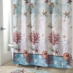 как выбрать шторы для ванной фото дизайна