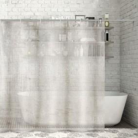 как выбрать шторы для ванной идеи
