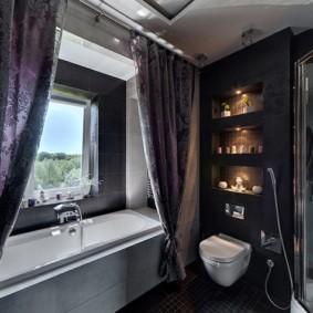 как выбрать шторы для ванной идеи декора