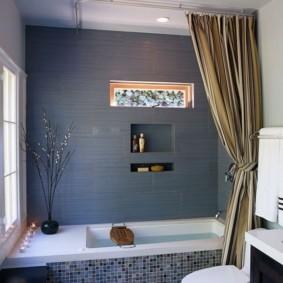 как выбрать шторы для ванной идеи интерьер