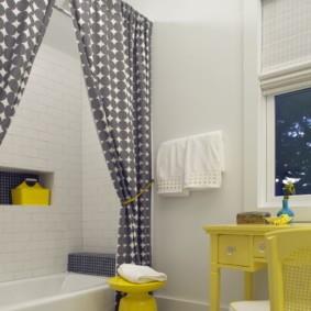 как выбрать шторы для ванной идеи варианты