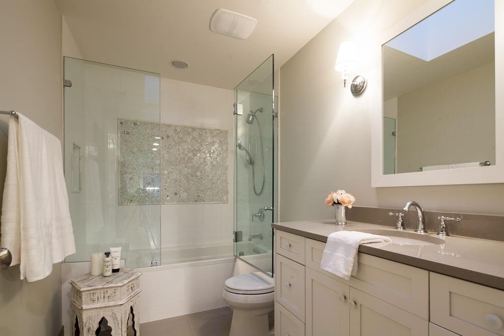 шторки для ванной комнаты варианты