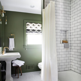 как выбрать шторы для ванной декор