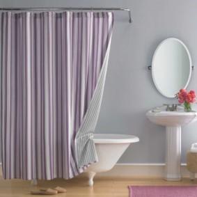 как выбрать шторы для ванной декор идеи