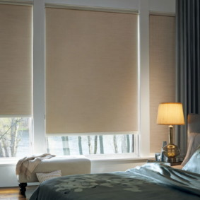 шторы для спальни 2019 интерьер