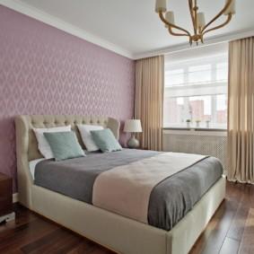 шторы для спальни 2019 оформление