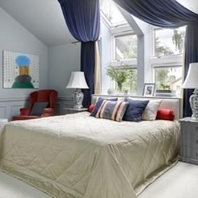 шторы для спальни 2019 фото оформление