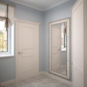 шторы в прихожей в частном доме фото