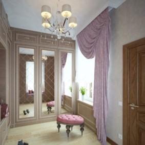 шторы в прихожей в частном доме фото декора