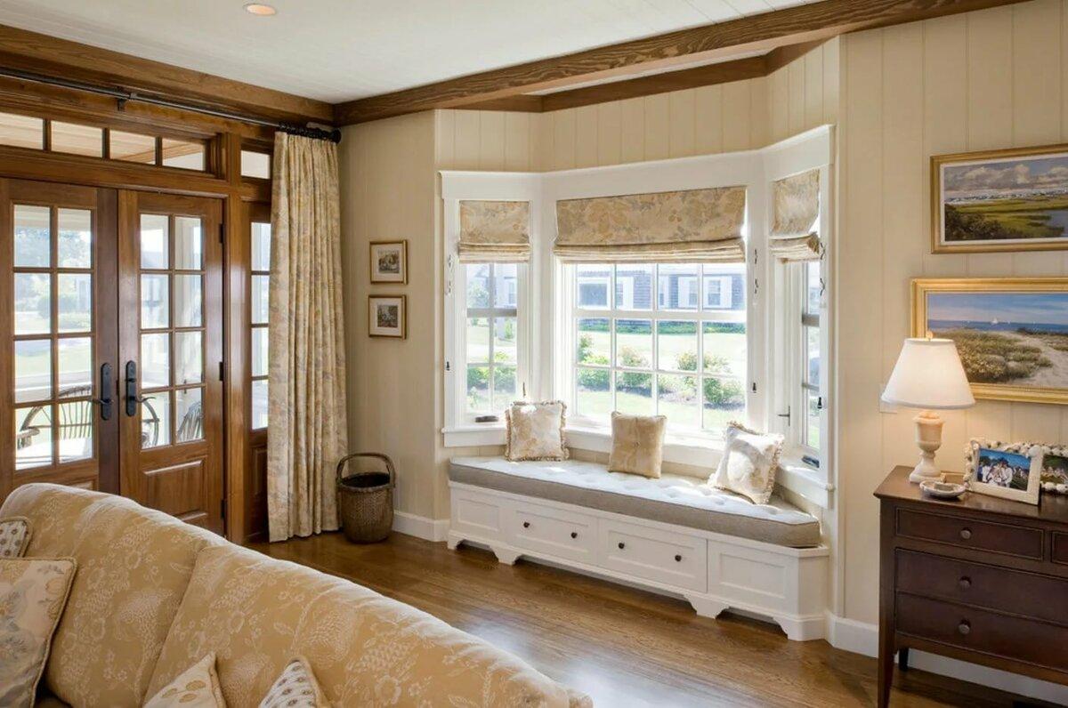 шторы в прихожей в частном доме фото вариантов