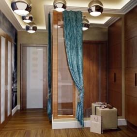 шторы в прихожей в частном доме фото варианты