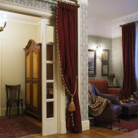 шторы в прихожей в частном доме идеи вариантов