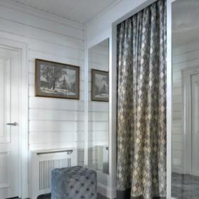 шторы в прихожей в частном доме варианты идеи