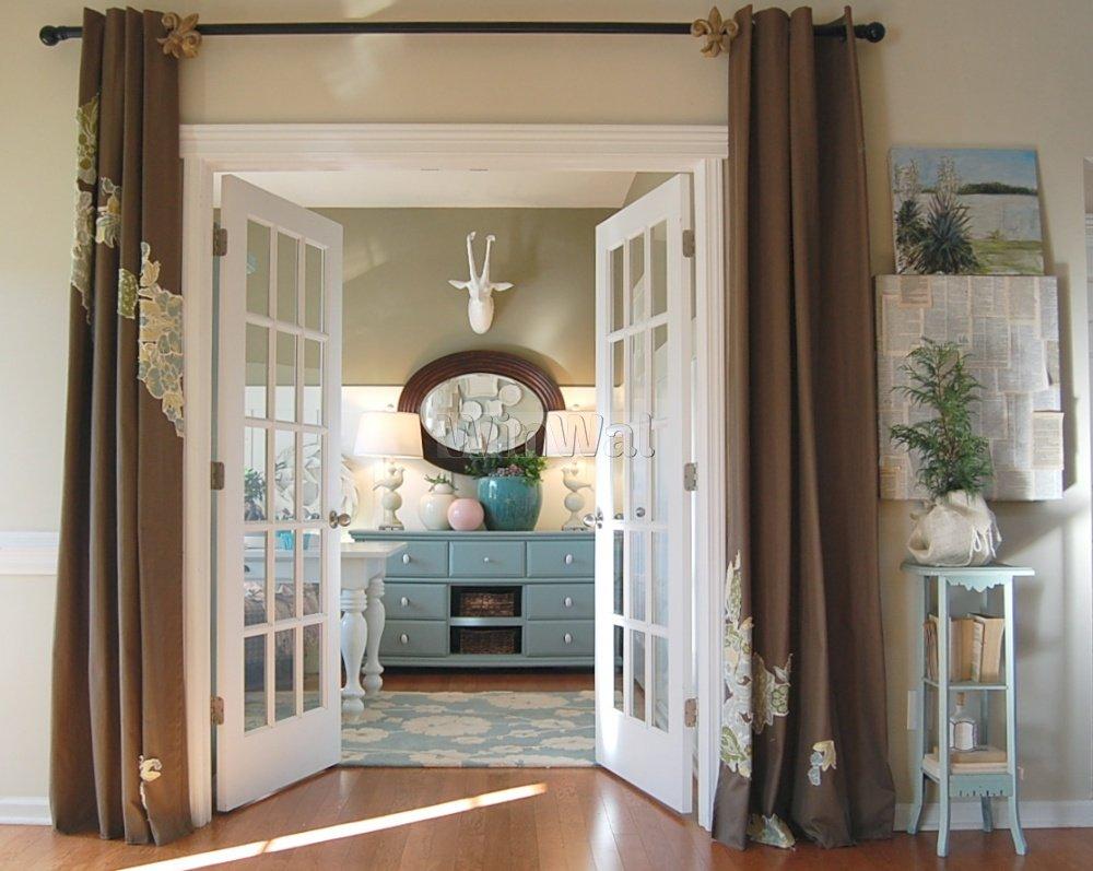 шторы в прихожей в частном доме дизайн