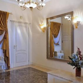 шторы в прихожей в частном доме фото идеи