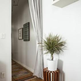 шторы в прихожей в частном доме идеи декор