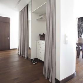 шторы в прихожей в частном доме идеи дизайна
