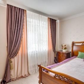 шторы для спальни 2019 идеи видов