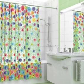 как выбрать шторы для ванной силиконовые