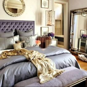сиреневая спальня дизайн идеи