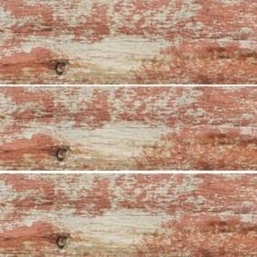 Кафельная плитки шебби шик под старые доски