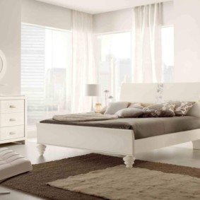 спальня в стиле модерн фото дизайн