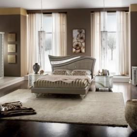 спальня в стиле модерн идеи дизайна