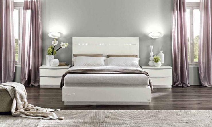спальня в стиле модерн идеи интерьер