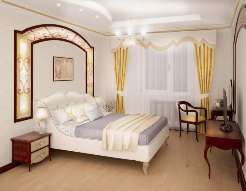 спальня в стиле модерн идеи интерьера