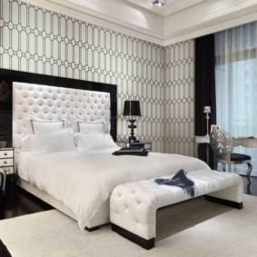 спальня в стиле модерн интерьер фото