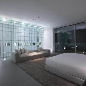 спальня в стиле хай тек отделка пола