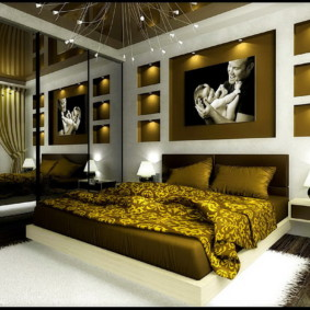 спальня 12 кв. м. дизайн фото