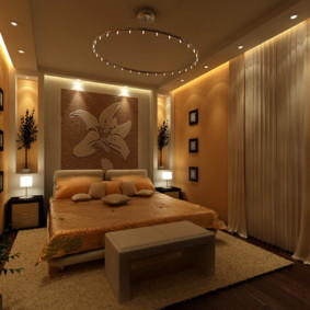 спальня 12 кв. м. фото