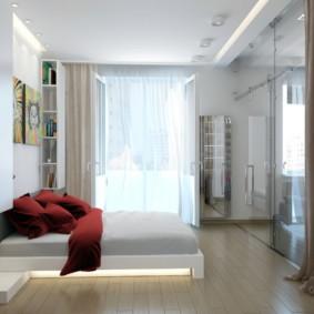 спальня 12 кв. м. фото дизайна