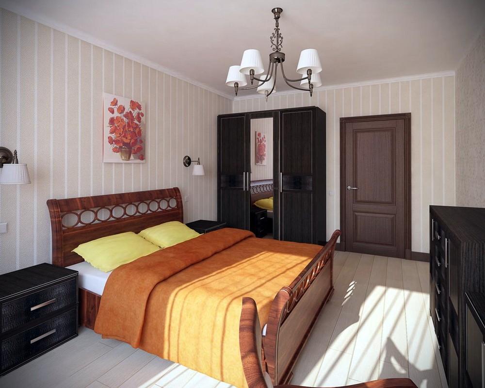 дизайн спальни 12 кв м фото оформления