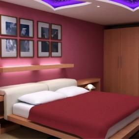 спальня 12 кв. м. идеи интерьера