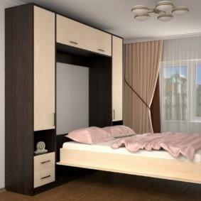 спальня 12 кв. м. оформление