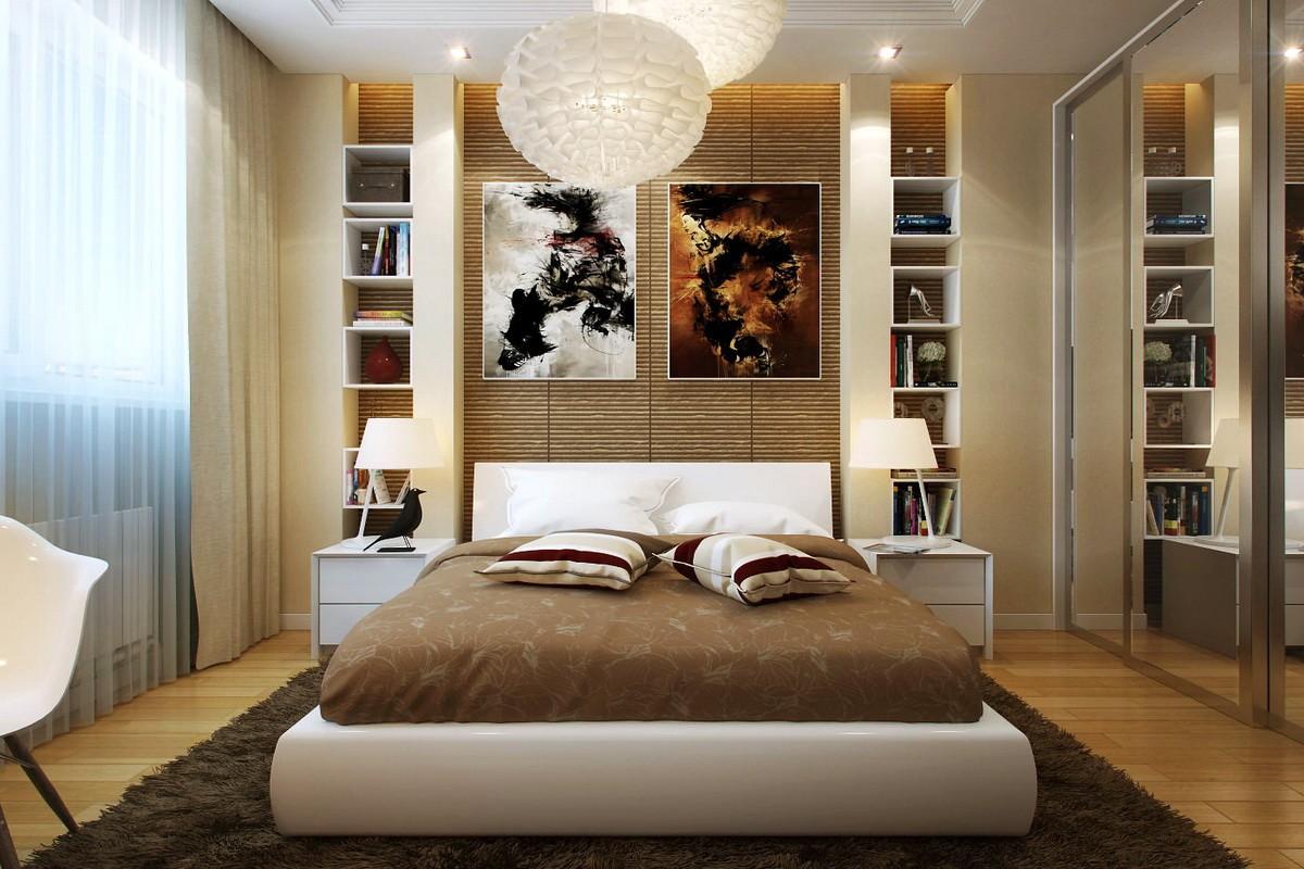 дизайн спальни 12 кв м оформление идеи