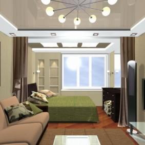 спальня 12 кв. м. варианты идеи