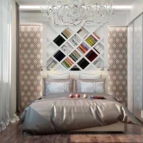 спальня 7 кв м декор