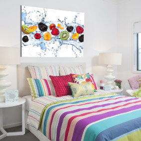 спальня 7 кв м декор идеи